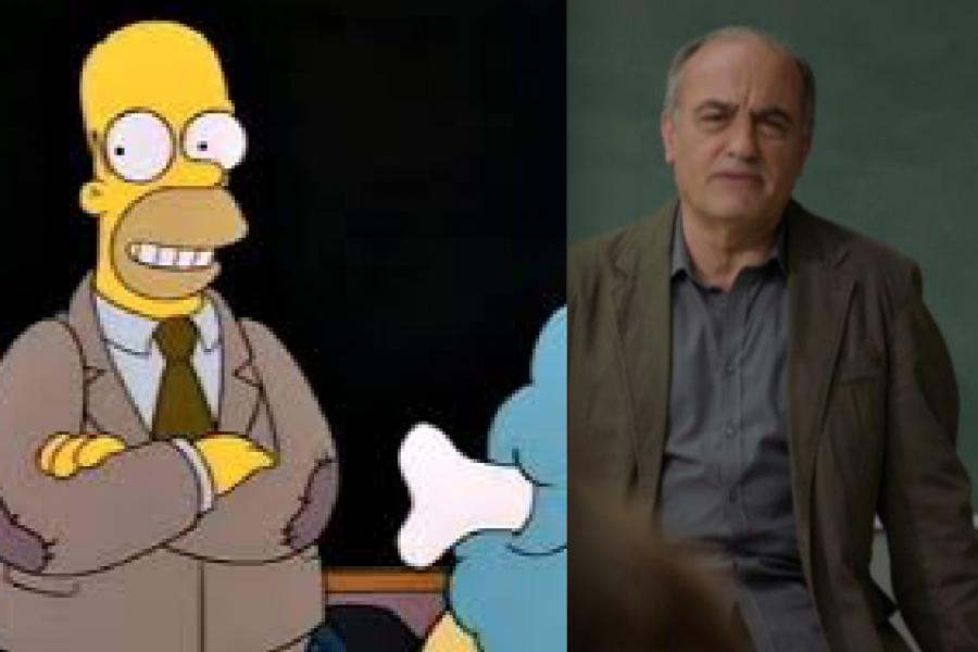 Les dues referències de Merlí amb Els Simpsons
