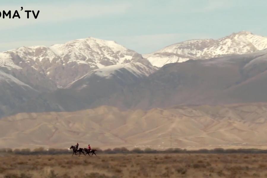 Être nomade aujourd'hui au Kirghizistan (video)