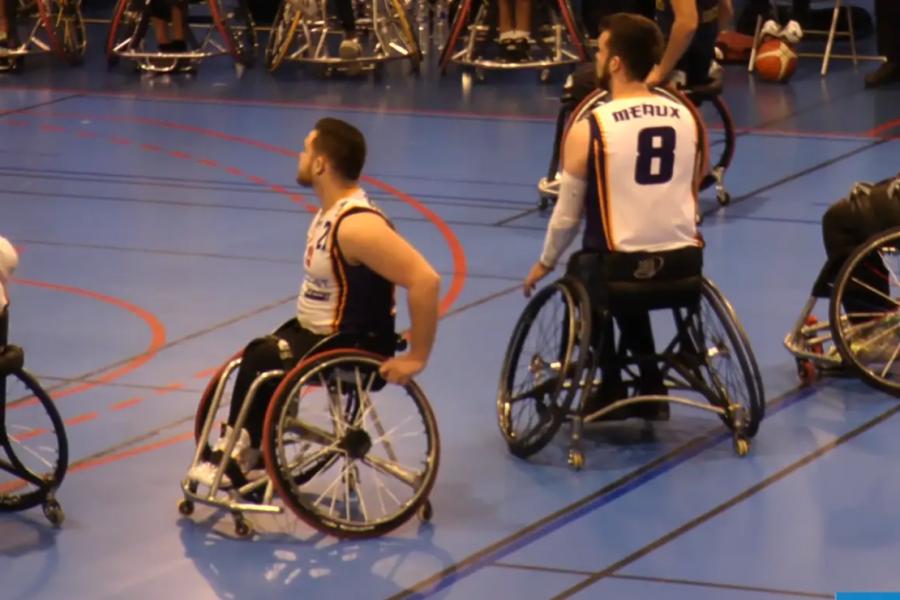 Reportage sur l'équipe de basket fauteuil de Meaux.